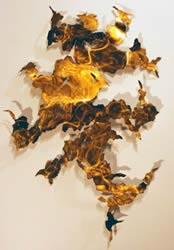 RECRYSTALLIZATION - Abstract Metal Art by Nicholas Yust